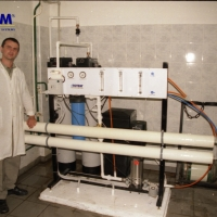 Water treatment for catering