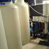 Water purification for cottages and apartments