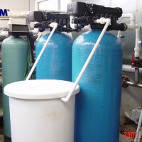 Water treatment for water-based industrial technologies