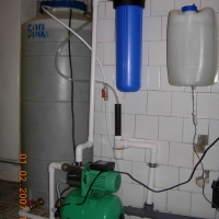 Water treatment for hospitals.
