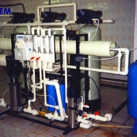 Water purification for hotels and recreation centers